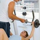 Músculos grandes vs. pequeños
