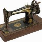 Cómo determinar los años de una antigua máquina de coser Singer