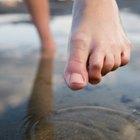 Comezón entre los dedos de los pies