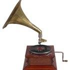 Cómo hacer un tocadiscos de fonógrafo de papel