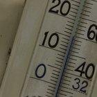 ¿A qué temperatura los grados Celcius y Fahrenheit son idénticos pero con signos negativos?