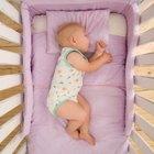 Cómo hacer un colchón para una cuna de bebé