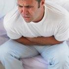 Dolor abdominal, sonidos intestinales fuertes y flatulencias después de comer