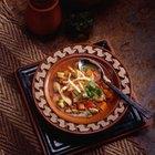 Calorías en una sopa de tortilla