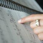 Cómo transcribir partituras para piano en partituras para guitarra