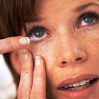 Sustitutos temporales para el fluido de los lentes de contacto