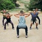 ¿Qué músculos trabajan los burpees?