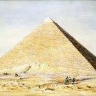 Cómo hacer una pirámide con una base rectangular de 8X6 pulgadas (20x15 cm)