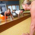 ¿Por qué algunas personas no pueden hacer flexiones?