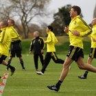 Pruebas de pretemporada para habilidades futbolísticas