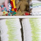Free Easy Instructions for a Two-Tier Diaper Cake