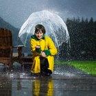 Instrumentos para medir la lluvia y viento
