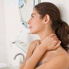 Arrugas en la piel del cuello