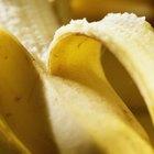 Cómo secar plátanos en el horno
