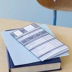 Cómo diseñar una cartilla escolar de primaria