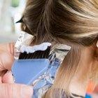 ¿Cómo mezclo la tintura Wella para el cabello?