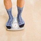 ¿Cuál es la máxima pérdida de peso por día?