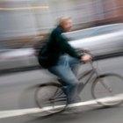 La velocidad media de una bicicleta