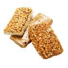 Nutrición de las barras de granola Nature Valley