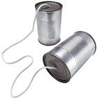 Cómo hacer teléfonos con cuerda y latas