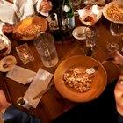 Información nutricional del restaurante Olive Garden