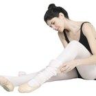 ¿Qué función cumplen las polainas en la danza?