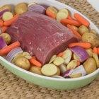 Cómo cocinar un corte de carne de la parte superior de la vaca en una olla de cocción lenta