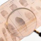Cómo identificar huellas dactilares para una clase