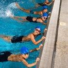 Cómo patalear al nadar