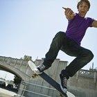 ¿Qué músculos se trabajan al practicar skateboarding?