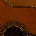 Guitarra con acabado satinado Vs. brillante