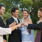 How to Make a Toast to the Bride From a Sister