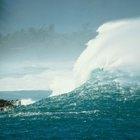 ¿Cuáles son todas las partes de una ola?