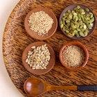 Las semillas de calabaza y su contenido de proteína