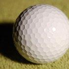 ¿De qué está hecha una pelota de golf?
