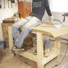 Cómo construir un banco de carpintería de madera