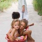 Actividades de empujar y jalar para el jardín de infantes