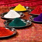 Cómo mezclar pigmentos de pintura