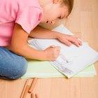 Técnicas de dibujo y sombreado para niños