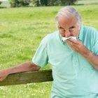 Enfermedades del pulmón con síntomas de tos productiva