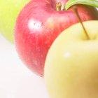 Fructosa en las manzanas