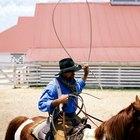 Cómo hacer y tirar un lazo de vaquero