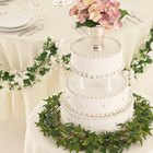 How to Attach a Garland to Reception Tables