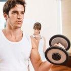 Ritmo cardíaco durante el levantamiento de pesas para hombres