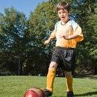Ejercicios de preescolar para fútbol