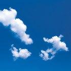 Cómo dibujar nubes en el cielo
