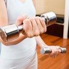 Entrenamiento con pesas para una lesión de hombro dislocado