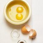 Licuados y batidos de fruta con huevos crudos