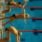 Los efectos de la fricción en los nadadores