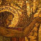 Simples diseños para hacer mosaicos bizantinos de papel